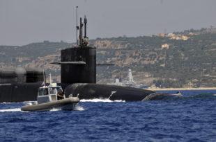 Две америчке атомске подморнице на Криту