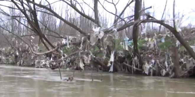Јужна тужна Морава - плови само смеће (видео) 1