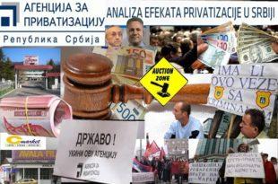 Лоповлук у агенцији за приватизацију: Бахато друштво оскудног знања, врши распродају српских предузећа