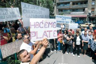 Радници од државе траже 300 милиона евра