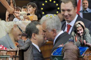 Срећно умирање Србије у ЕУ будућности: Пуна уста обећања и планова, а народ гладан