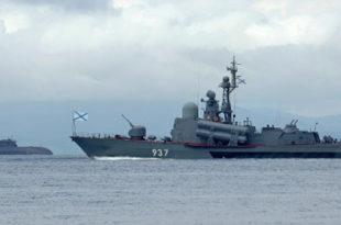 Руски ратни бродови почели реализацију задатака у Средоземном мору