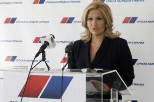 Атлантиђанка: Даћу оставку ако је тражи Вучић