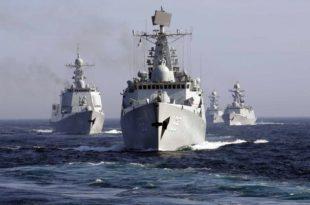 Почеле заједничке вежбе морнарица Кине и Русије