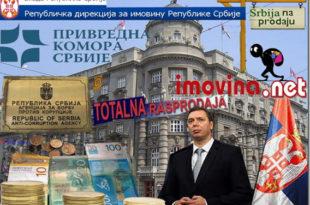 Распродаја Србије: Власт крчми имовину државе као на пијаци