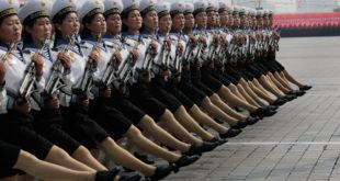 Војна парада у Северној Кореји (видео)