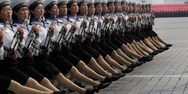 Војна парада у Северној Кореји (видео) 1