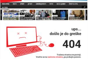 Телеграф по налогу српског режима уклонио вест о побуни жандармерије (фото) 1