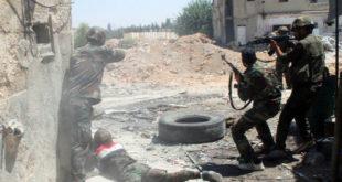 Битка на периферији Дамаска где су нађени бојни отрови 1