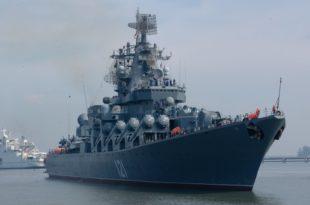 """Русија упутила у Медитеран ракетни разарач """"Москва"""" и противподморнички брод"""