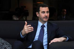 Интервју са Башаром Асадом: Сваког месеца у Сирију уђу на десетине хиљада страних терориста