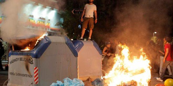 У Турској нови сукоби полиције и антивладиних демонстраната 1
