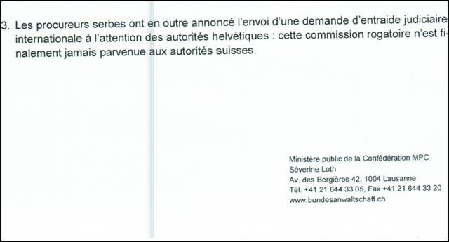 Порука за Ракића: Закључак швајцарског тужилаштва да Суботић никакве везе са Шарићима није имао, нити је са њима сарађивао