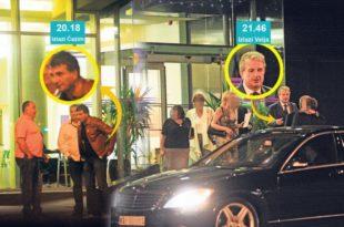 Много је куме! Директор полиције Вељовић и шеф шиптарске нарко-мафије Османи заједно у тоалету хотела Зира (фото-галерија)