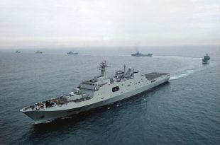 Да ли је Кина послала војне бродове ка обалама Сирије?