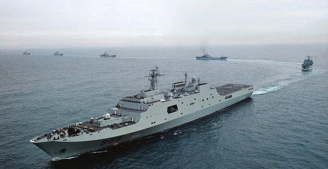 Да ли је Кина послала војне бродове ка обалама Сирије? 1