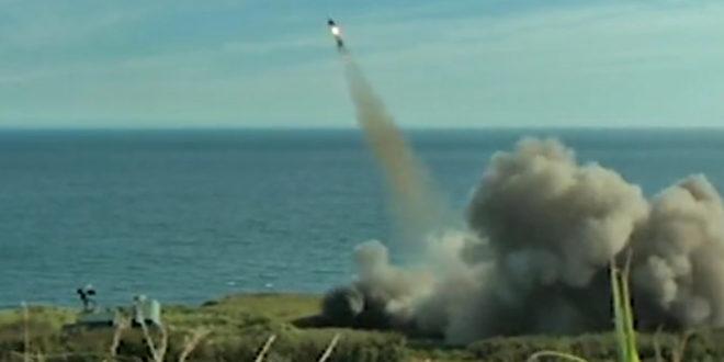 Руска Пацифичка флота вежба обарање крстарећих ракета (видео) 1