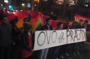 ХАОС У ЦЕНТРУ ГРАДА: Геј парада почела испред Владе Србије! (ФОТО)