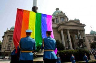 Геј парада у Беoграду као провокација и демонстрација силе запада и НВО организација