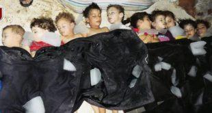 Рачак 2: Терористи Ал Каиде киднаповали алавитску децу, побили их и приказали их као жртве наводног хемијског напада Асада 4