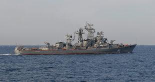 """Русија у воде Средоземља послала једанести брод, разарач """"Сметљивиј"""""""