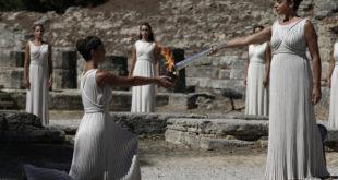 Паганизам: У Херином храму упаљен олимпијски пламен и кренуо према Сочију 9