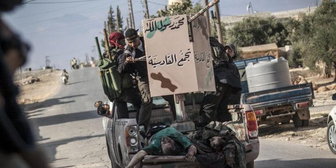 Распала се сиријска терористичка опозиција 1