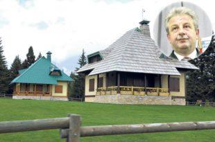 МАЛО ДЕДИЊЕ: Ово је царство директора српске полиције Вељовића на Голији! (фото, видео)