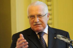 Вацлав Класу: EУ у садашњем облику представља трагичну грешку у европској историји