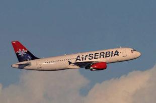 Авион Ер Србије због квара принудно слетео у Абу Дабију