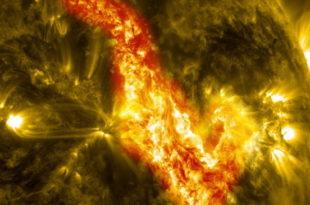 Ерупција на Сунцу (видео) 3