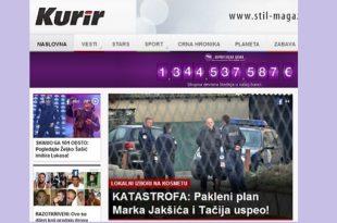 Б92, Блиц, Курир и остатак режимских медија води пропагандни рат против Срба као у златно доба лупања шерпа