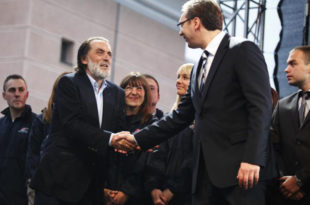 Вук Драшковић: Вучић спроводи политику о којој причам од '91, наша сарадња је логична!
