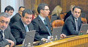 Да ли ико зна колико је у прве три недеље 2015. Влада Србије одржала састанака и колико је времена утрошено на то? 9