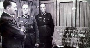 Хитлер лечио комплексе Принциповом спомен плочом