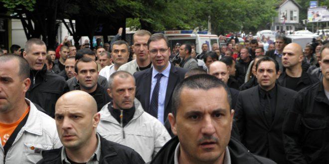 Криминалци под контролом Александра Вучића праве хаос у Косовској Митровици