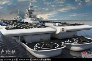 Кина саопштила да започиње серијску производњу носача авиона 8