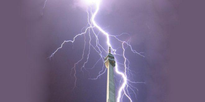 НЕВРЕМЕ У СРБИЈИ: Ноћас испаљено 829 ракета са осам радарских центара, забележено 15.000 удара муња 1