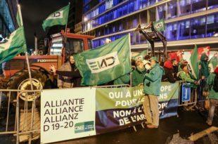 Демонстранти блoкирали самит ЕУ у Бриселу (видео)