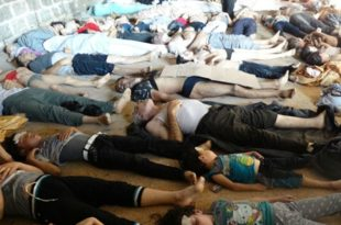"""""""Напад хемијским оружјем у Сирији је био намештаљка"""""""