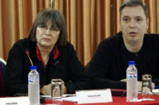 "Како су се ""заволели"" Вучић и Наташа Кандић"