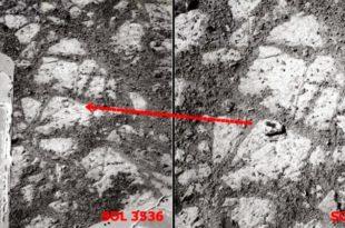"""Марсовци гађају ровер камењем! """"Лутајући камен"""" на Марсу – загонетка за научнике"""