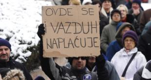 Нови Сад: Протест због рачуна за гас 5