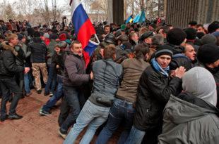 Експлозија испред кримског парламента