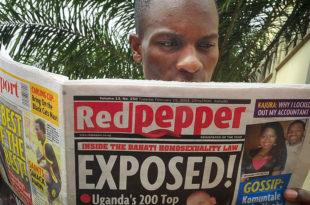 """Таблоид у Уганди објавио """"топ листу"""" истакнутих хомосексуалаца"""