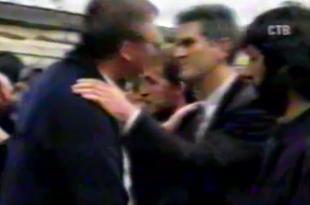 Заклетва четника Томислава Николића 1993 на Романији (видео)