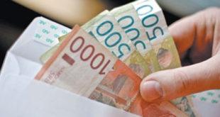 Просечна плата 44.883 динара, а држава најављује смањење 10 % 8