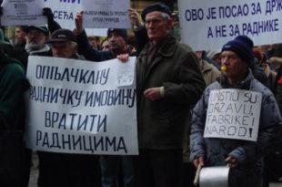 Корумпирани лидери радничких синдиката и Влада Србије настављају да затежу омчу око врата српском раднику