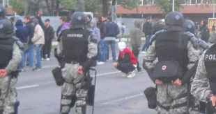 Протести и у Скопљу: У сукобу грађана и полиције четворо повређених 7