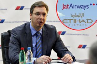 Ало, напредњачки лажови! Где је уговор о продаји ЈАТ-а Етихаду који је потписао Вучић?